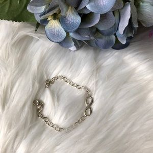 Tiffany infinity chain bracelet